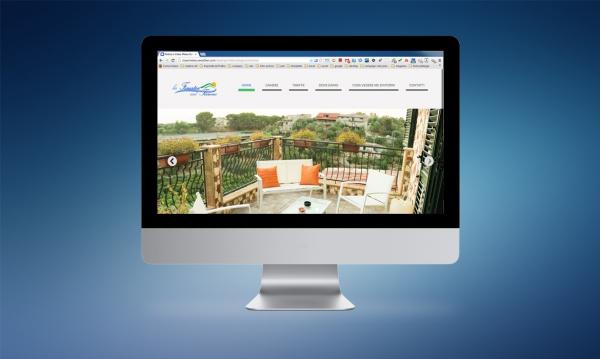 Realizzazione del sito internet del B&B La finestra sul Tirreno di Capo d'Orlando (ME)