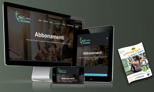 sito e marketing palestra Geis Fitness Club Palermo