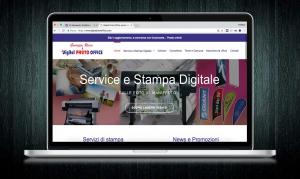 Realizzazione sito Digital Photo Office realizzata da RG web&grafica