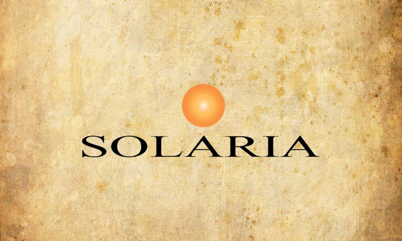 Logo Solaria realizzato da RG web&grafica